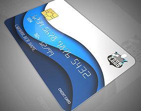 Bank cards 3D
