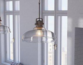 Fuhrmann 1 - Light Single Dome Pendant See More 3D model 2