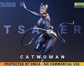 3D print model Catwoman Statue - DC