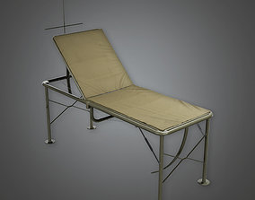 MLT - Military Medical Operating Bed - PBR Game 3D asset