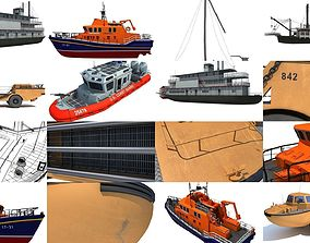 3D Boat Models Collection