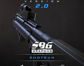 SBG Shotgun 3D model