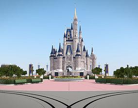 3D model Walt Disney World Cas