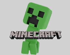 Creeper Baby 3D model animated