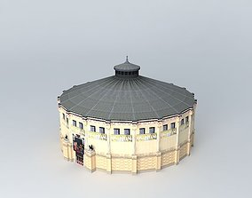3D model Cirque Hiver, Paris