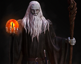 Gandalf the Black pre-supported 3D printable model