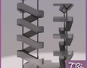 3D model EMERGENCY STAIRS GROUP A