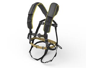 Full Body Harness 3D asset