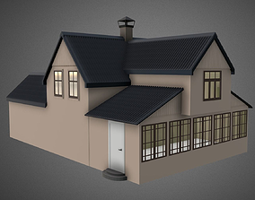 3D small Summer house