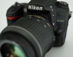 3D asset Nikon D7000