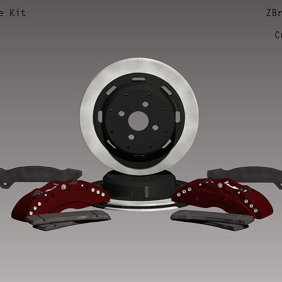 Automotive: Brake Assembly 01