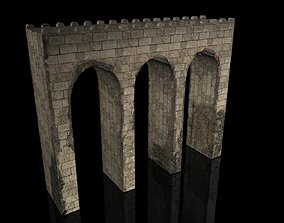 Medieval Bridge 3D model realtime