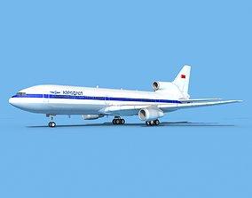 Lockheed L-1011 TriStar Aeroflot 3D