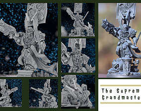 3D printable model Supreme Grandmaster - The Keeper of