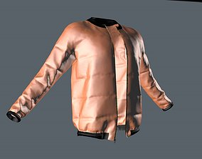 leather 3D jacket
