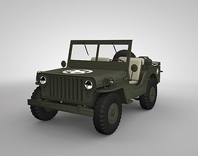3D model realtime Willys JEEP