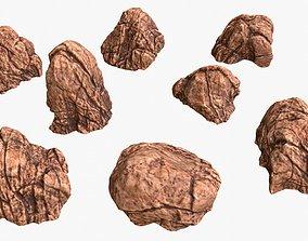 Red Desert Roks 02 3D asset