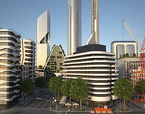 Belfort City 3D model