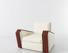 3D model armchair 27 am142