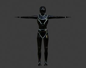 3D model Sci Fi Woman