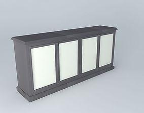 White Buffet 3D