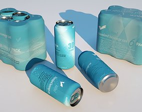 3D Can package 440ml