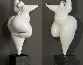 CHRISTIAN PESCHKE Figur Tanzerin 3D