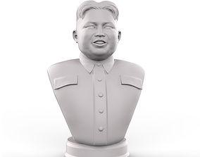 3D printable model Kim Jong Un portrait
