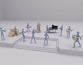 3D model Toys music group