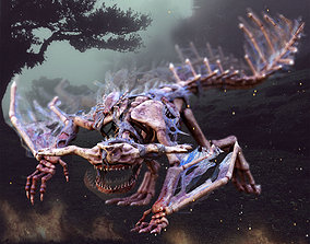 3D model Zombie Bone Beast