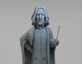 Severus Snape cartoon 3D printable model