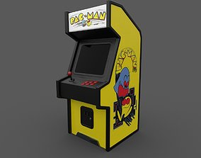 electronics 3D model Arcade Machine