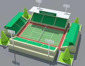 SimplePoly Stadium Kit 3D model
