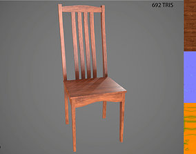 Low Poly Chair 2 3D model