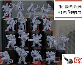 3D print model The Harvesters - Heavy Reapers