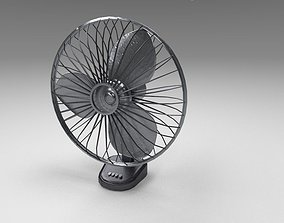 Table Fan 3D model realtime
