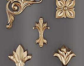 3D Trim Ornament 57