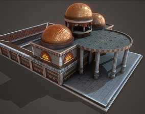 Ancient Baths 3D asset