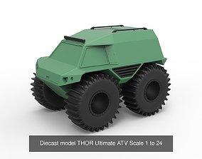 Diecast off road vehicles print 3D