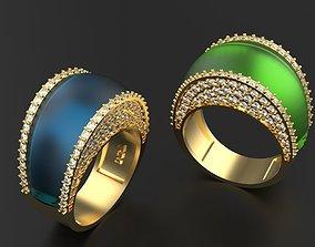 Beautiful Royal ring 3D printable model