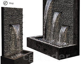 3D model Wall Fountains