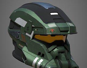 Mech Helmet 3D model