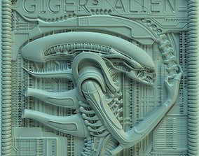 Panno Gigers alien ver02 3D printable model