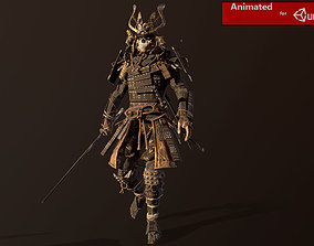 Samurai Remastered 3D model