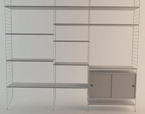 3D String Shelf System
