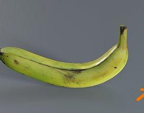 3D model Fresh Banana photogrammetry