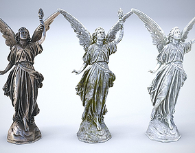 3D model Sculptures Pack Vol1 Statue 3