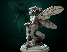 3D print model Pixie Soul of the Forest 75mm pre-supported