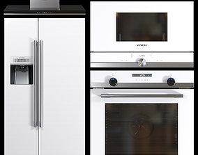 Set Siemens Appliance 3D