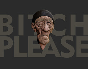 Old Man Caricature 3D printable model